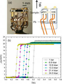 Pressure Effect On The Superconducting And The Normal State Of  β − B I 2 Pd