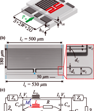 Tunable Superconducting Two-Chip Lumped-Element Resonator