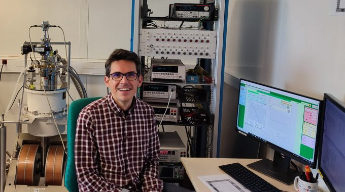 """""""I Work In An Environment Where Ideas Flow Easily From Fundamental Studies Into Applications"""", Javier Villegas"""